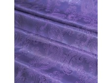Paisley Jacquard Lining Russian Violet