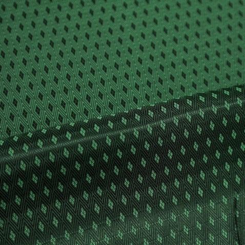 Geometry Lining Arsenic Green